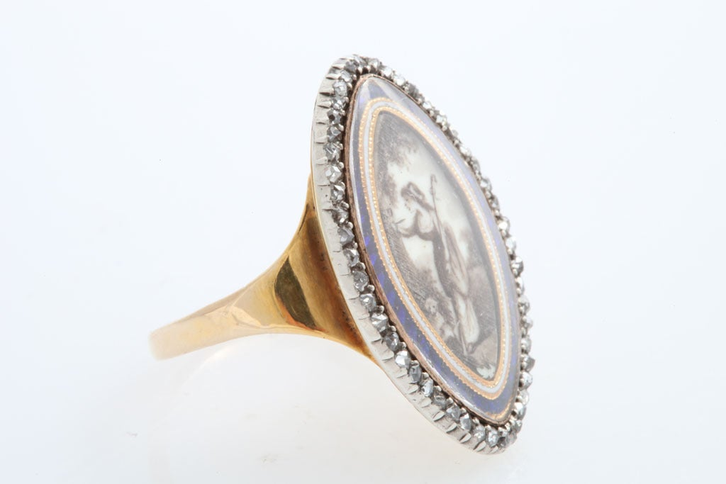 Women's Georgian Love: A Passion Ring