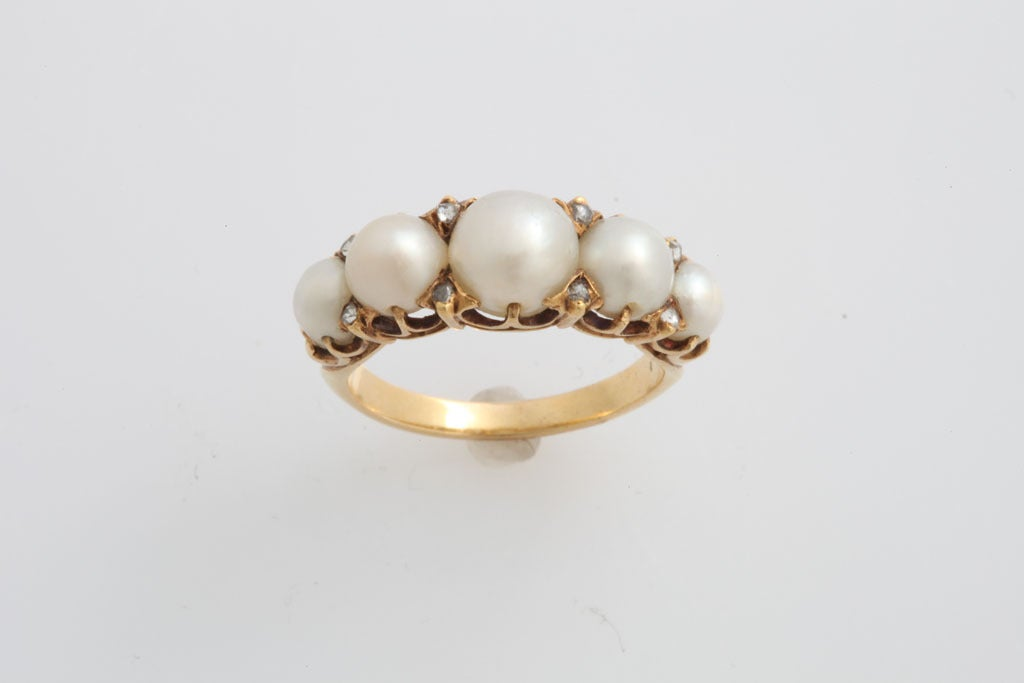 antique pearl and ring at 1stdibs