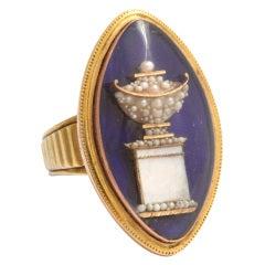 Celebrate Life: Magnificent Eighteenth Century Memento Mori Ring