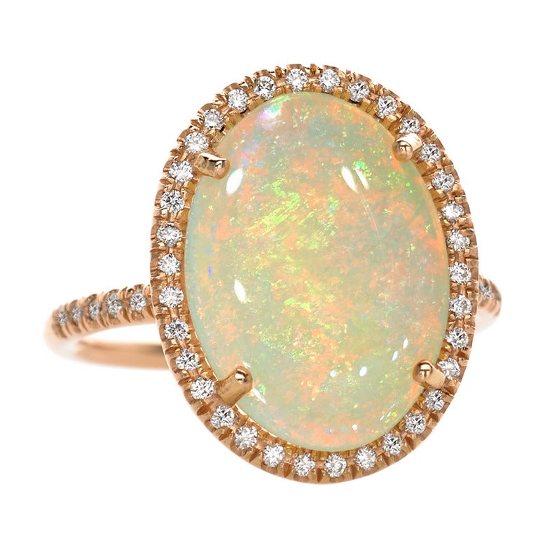 Lauren K. Rainbow Opal Ring