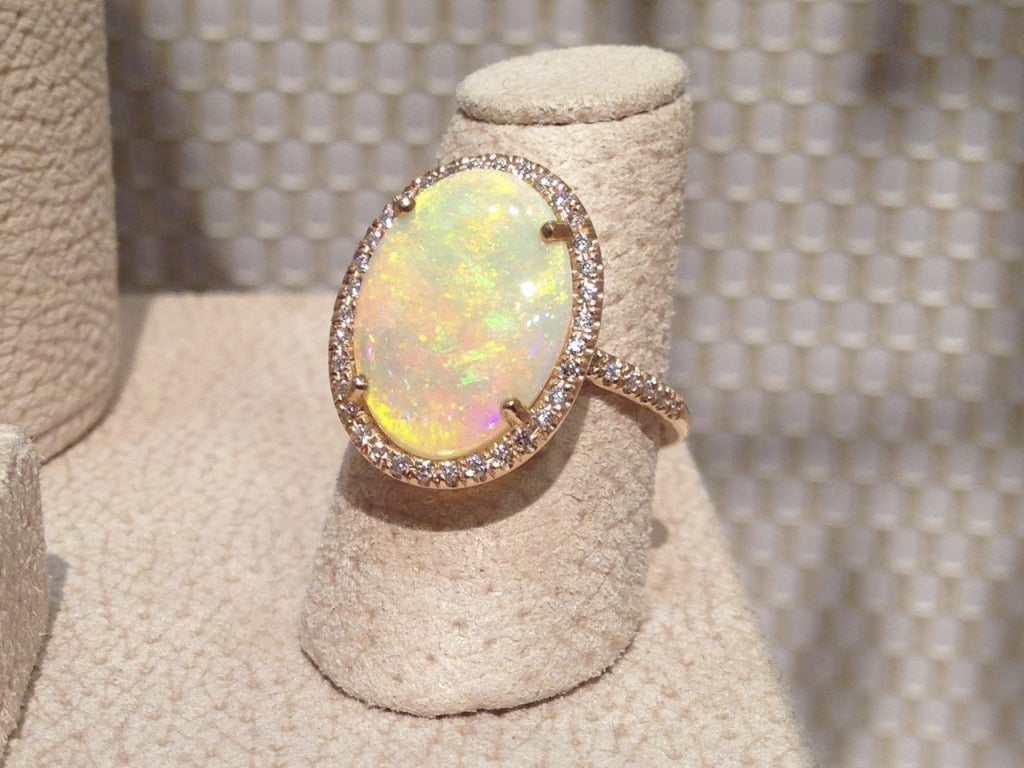 Lauren K. Rainbow Opal Ring image 2