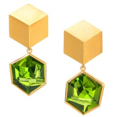 ATELIER MUNSTEINER 3D Hex Earrings