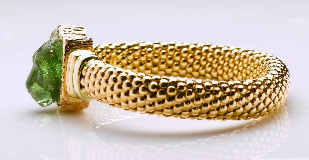 Tourmaline Rose Gold King of Beasts Bracelet 2