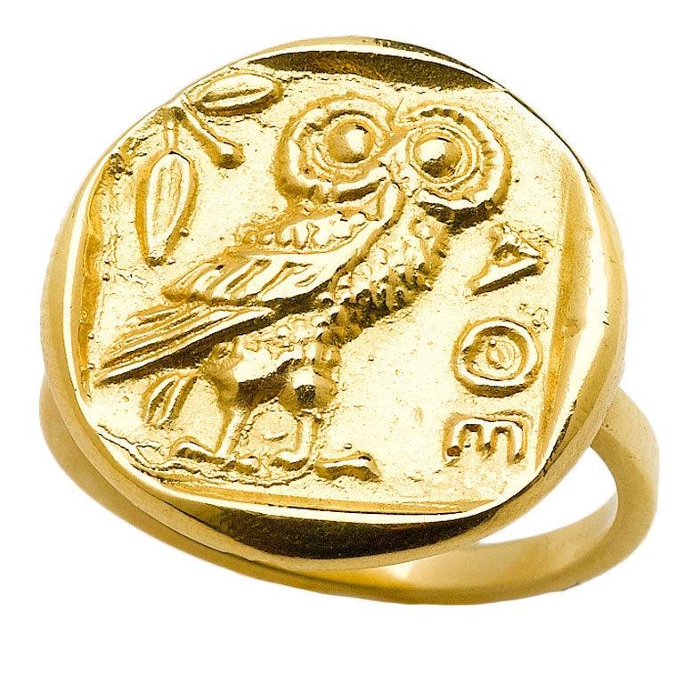 Athena Gold Ring 1