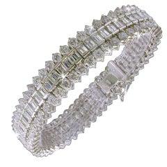 DIAMOND Fancy Tennis Bracelet.