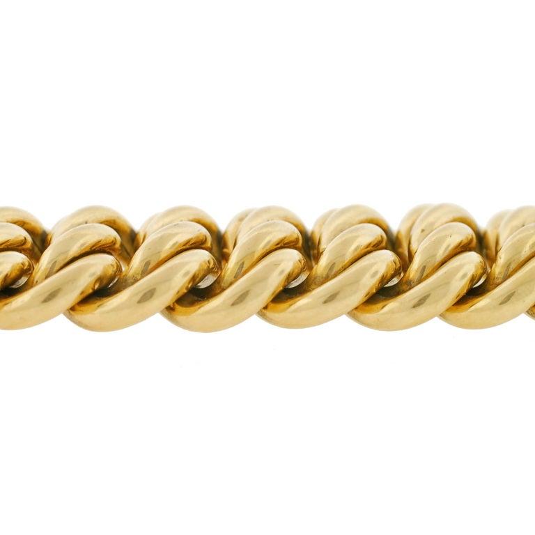Victorian Gold Chain Link Bracelet image 6