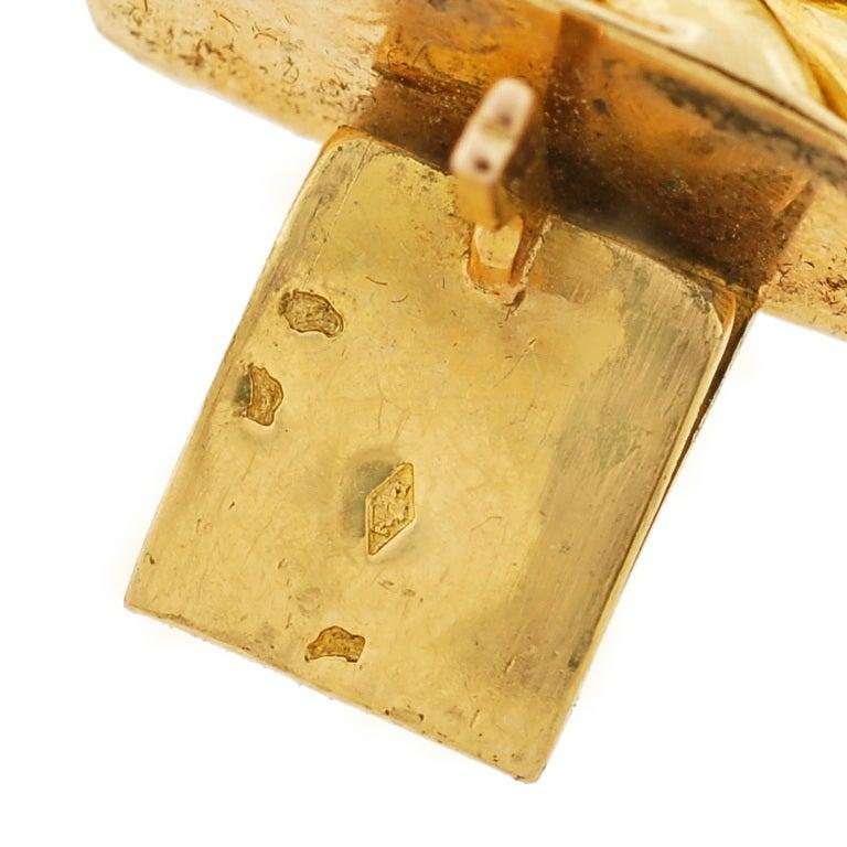 Victorian Gold Chain Link Bracelet image 8