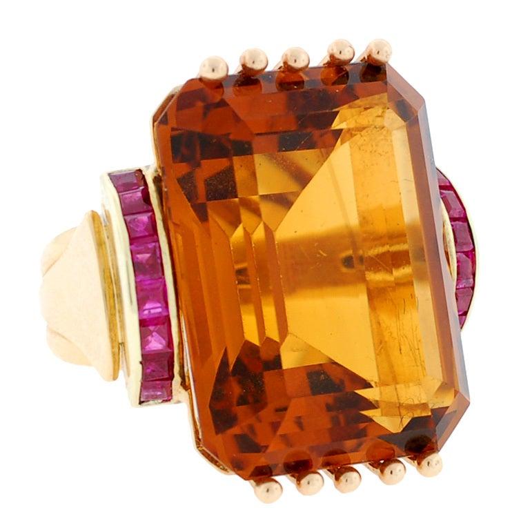 Stdibs Jewelry Citrine Ring
