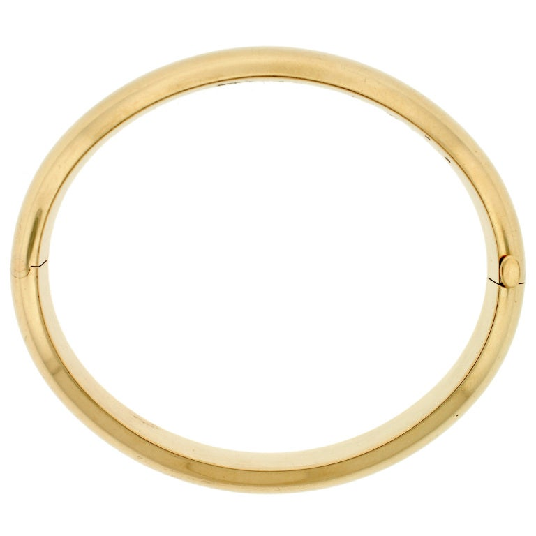 Jewelry Bracelets Bangles Tiffany Co Gold Bangle Bracelet Id J 107183 Tiffany Bangle Bracelets