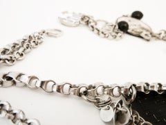 Vintage Chanel 'House of Goossens' Multi-Charm Necklace thumbnail 7