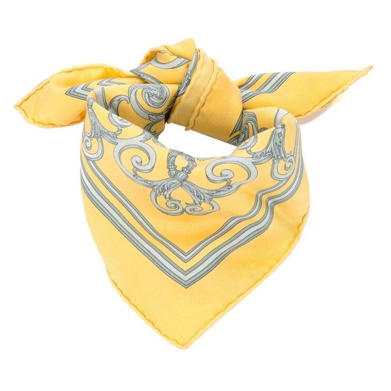 Hermes Vintage Silk Scarf 2