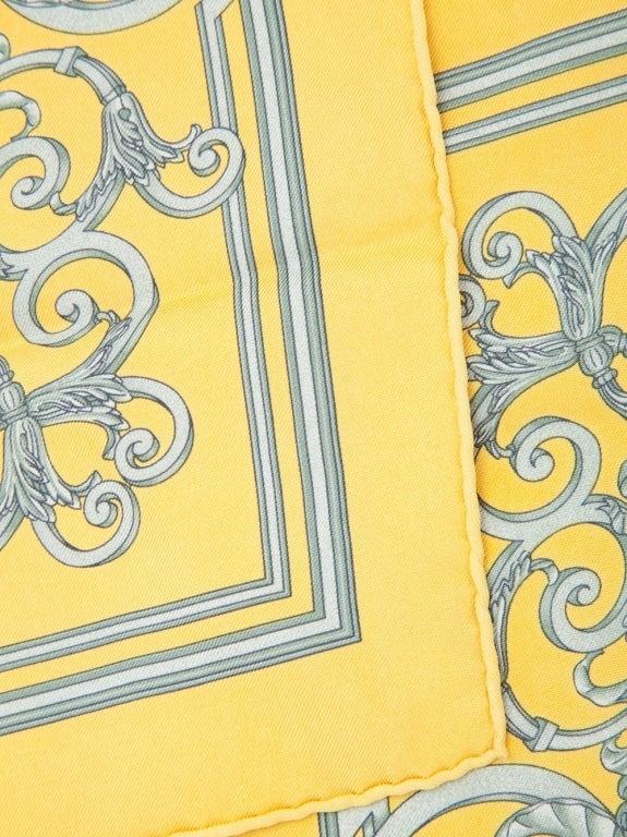 Hermes Vintage Silk Scarf 4