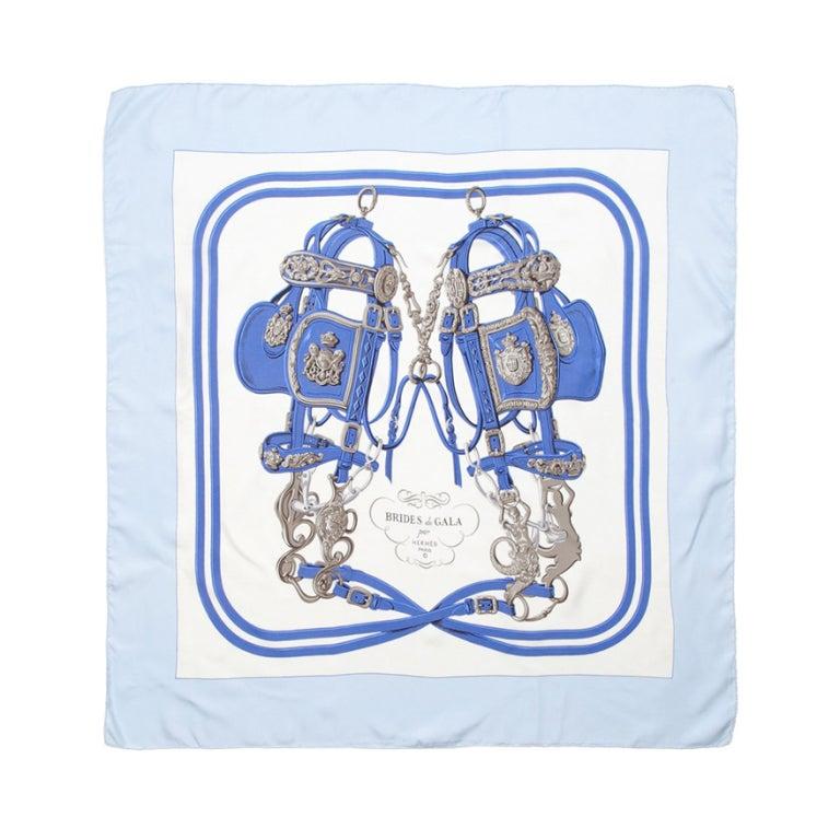 Hermes Vintage Silk Scarf 1