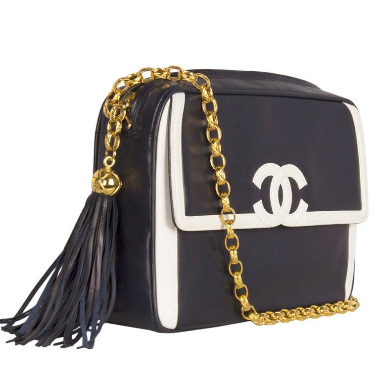 Chanel Blue Camera Bag 2