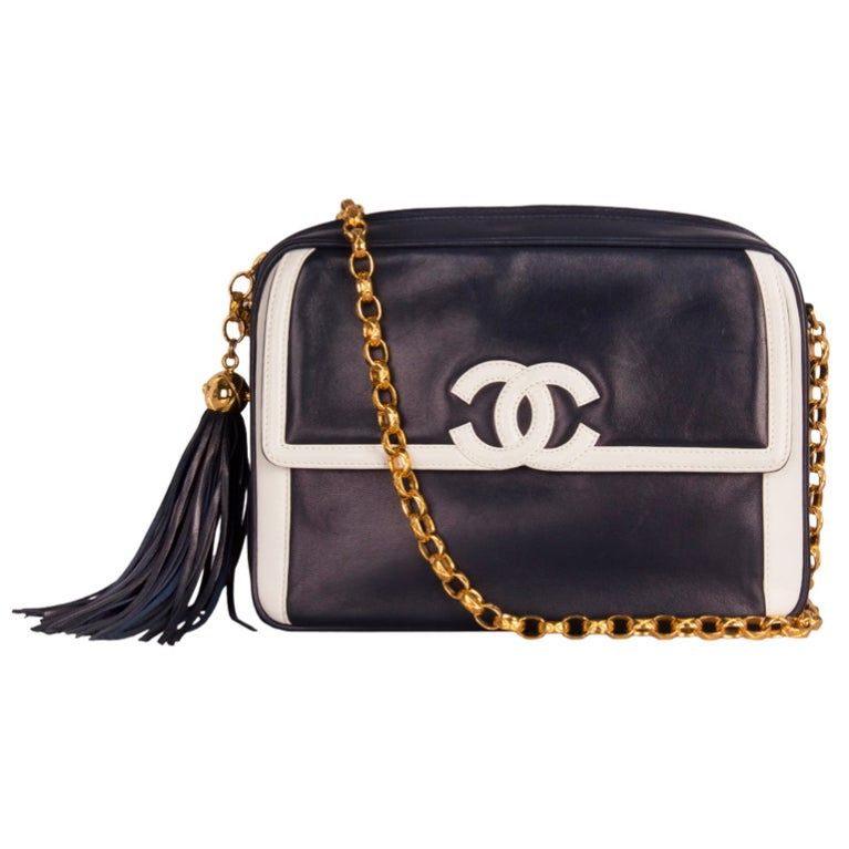 Chanel Blue Camera Bag 1