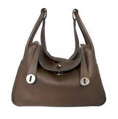 Hermes 34cm Togo Leather Lindy Bag