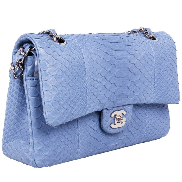 Chanel Python 2.55 Shoulder Bag 2