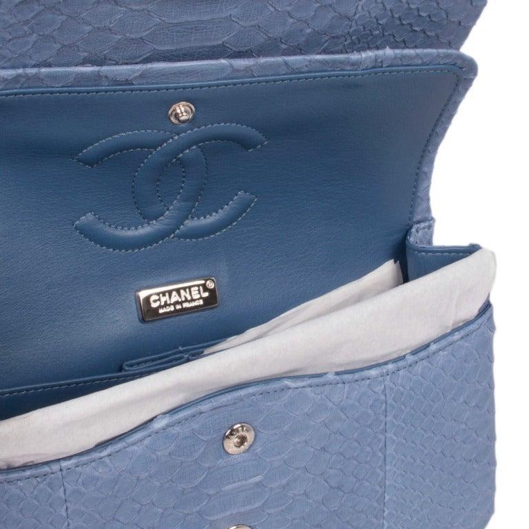 Chanel Python 2.55 Shoulder Bag 7