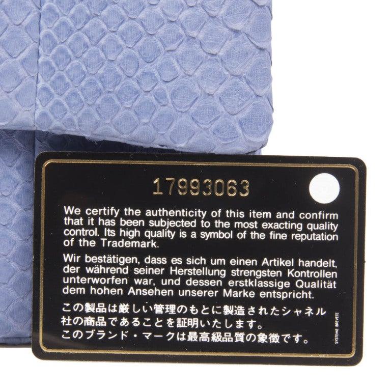 Chanel Python 2.55 Shoulder Bag 9