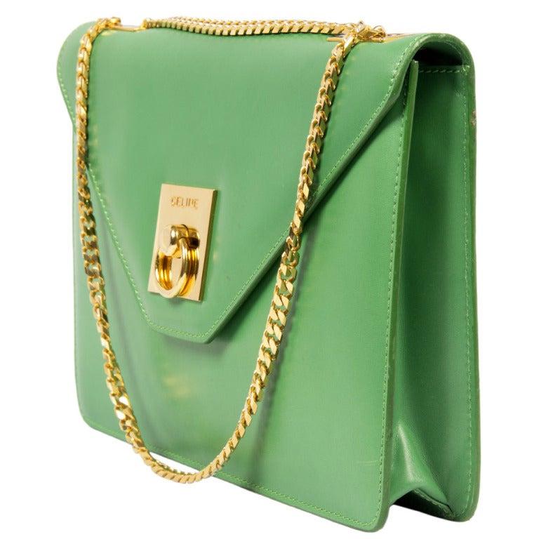 Celine Vintage Shoulder Bag 4