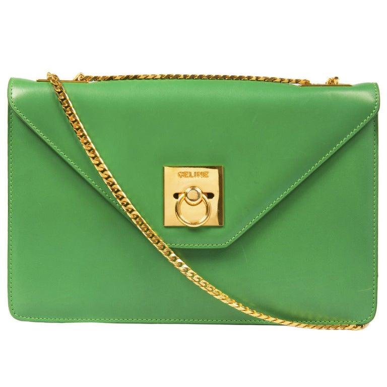 Celine Vintage Shoulder Bag 1