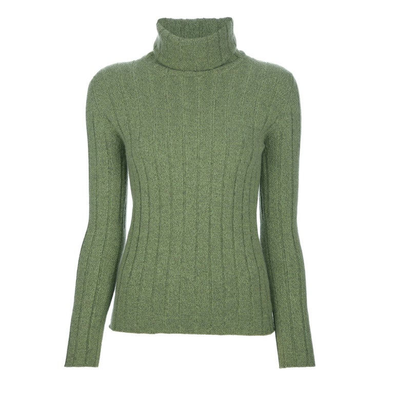Chanel Cashmere Polo Neck Jumper 1
