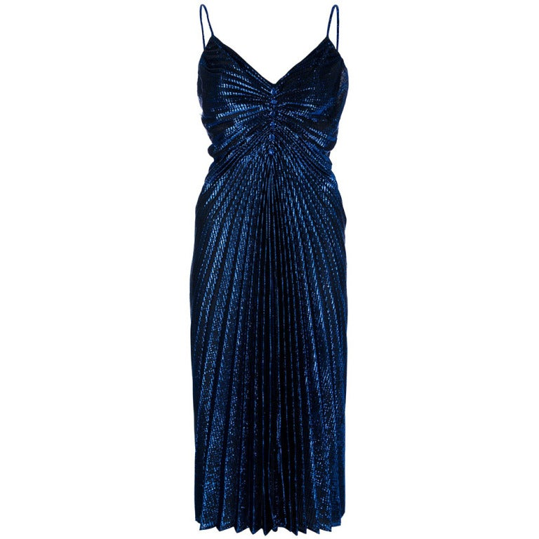 1970s disco dress for sale at 1stdibs