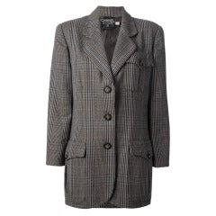 Chanel Vintage Buttoned Jacket