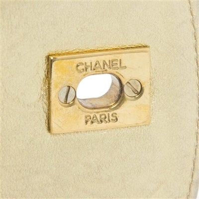 Chanel Vintage Gold Quilted Backpack 8