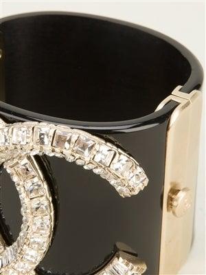 Chanel Vintage Crystal Cuff 2
