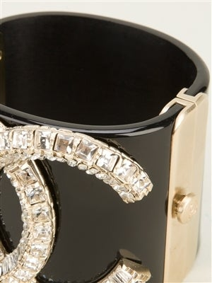 Chanel Vintage Crystal Cuff image 2