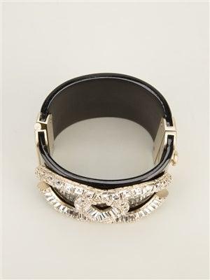 Chanel Vintage Crystal Cuff 3