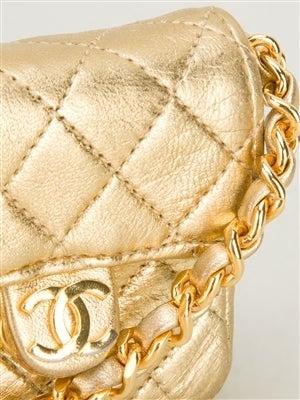 Chanel Vintage Mini Quited Shoulderbag 5