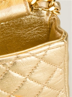 Chanel Vintage Mini Quited Shoulderbag 6