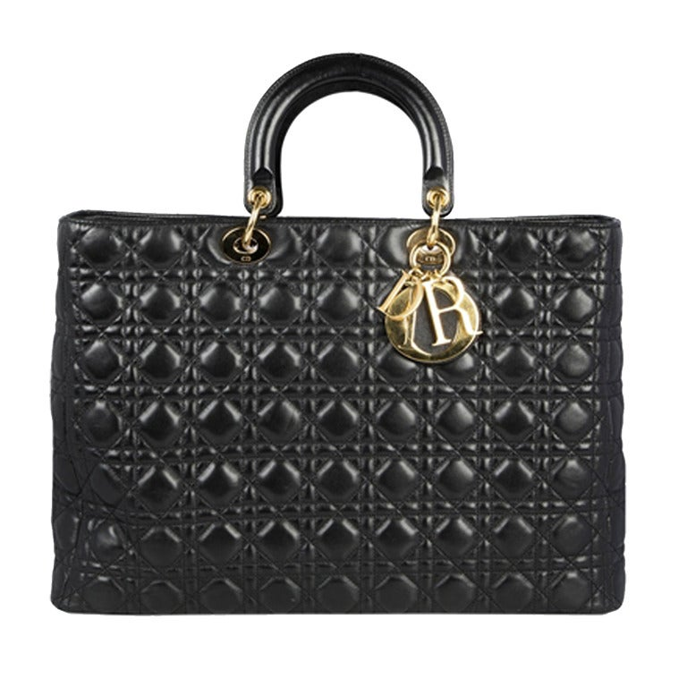 Christian Dior 'Lady Dior' Handbag For Sale