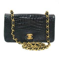 Chanel Vintage Crocodile Shoulder Bag