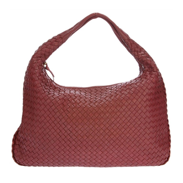 Bottega Veneta Woven Leather Handbag At 1stdibs