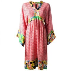 Duro Olowu Vintage Floral Tunic Dress