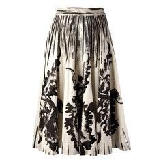 Vintage 1950s Lily Montez Cartwheel Skirt