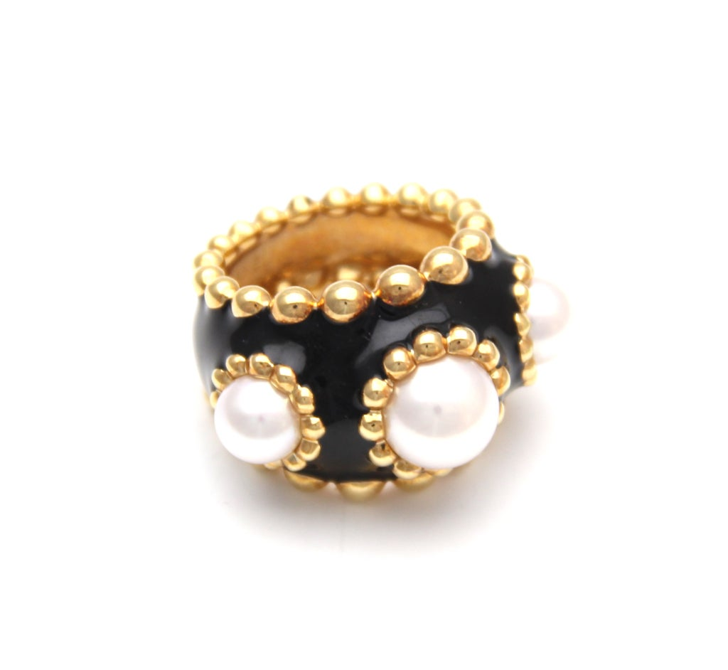 Chanel 24kt gold Ring 1