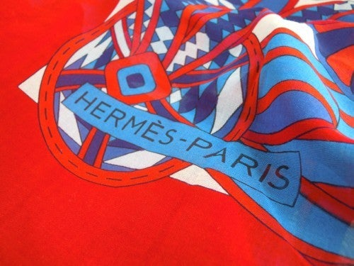 Hermes Cotton Printed Seaside Cover 6