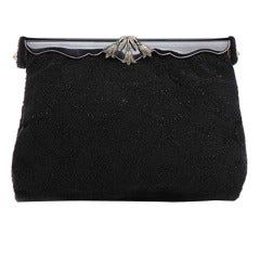 1940's Vintage Beaded Evening Bag