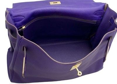 Hermes 40cm Iris Kelly Bag 10