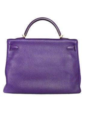 Hermes 40cm Iris Kelly Bag 2