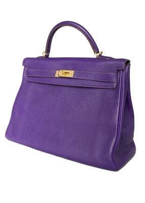 Hermes 40cm Iris Kelly Bag 3