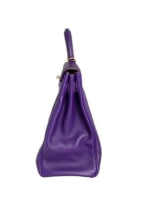 Hermes 40cm Iris Kelly Bag 5