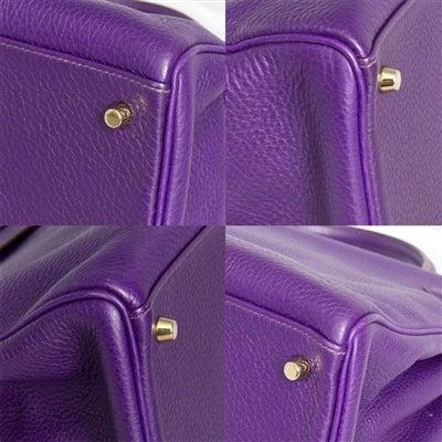 Hermes 40cm Iris Kelly Bag 8