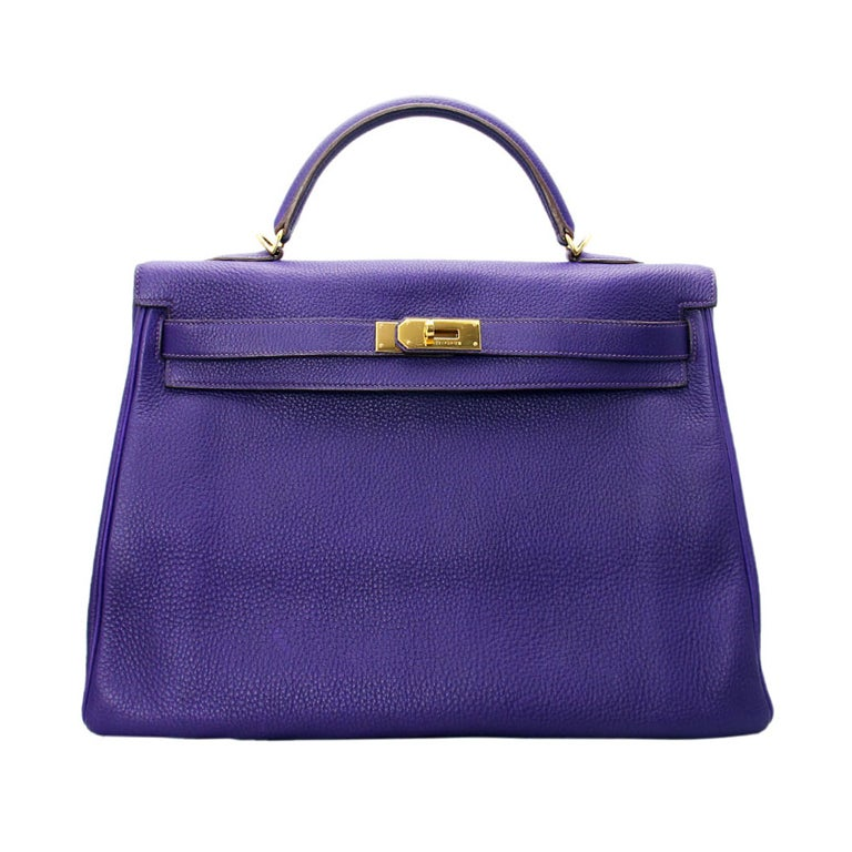 Hermes 40cm Iris Kelly Bag 1