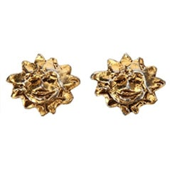 Hermes Vintage Clip On Earrings
