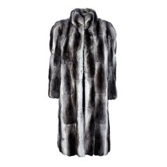 Christian Dior Vintage Chinchilla Fur Coat